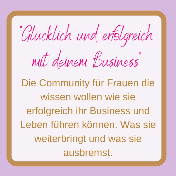 Jacqueline Bürker Community